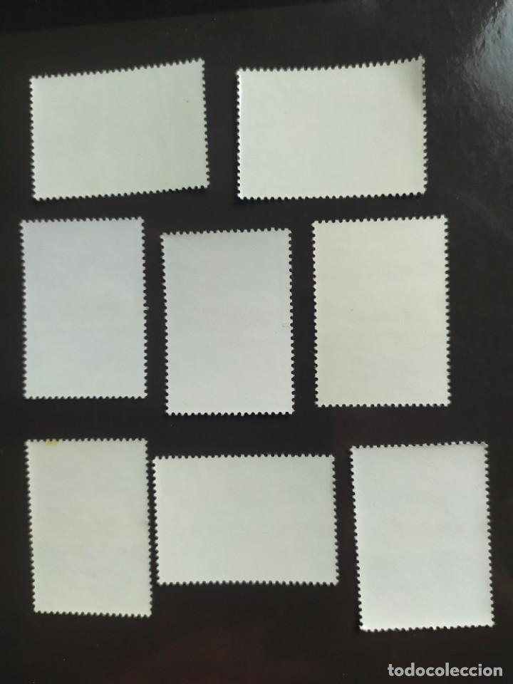 Sellos: ## España nuevo 1974 Eduardo Rosales 8 sellos ## - Foto 2 - 289632833