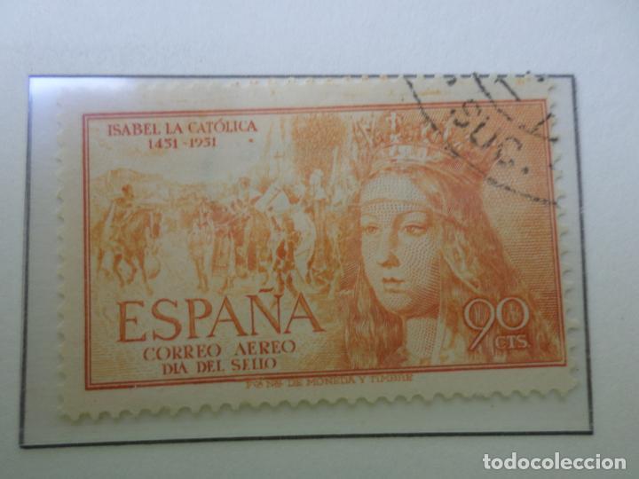 1951, V CENT. NACIMIENTO DE ISABEL LA CATOLICA, EDIFIL 1098 (Sellos - España - II Centenario De 1.950 a 1.975 - Usados)