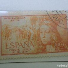 Sellos: 1951, V CENT. NACIMIENTO DE ISABEL LA CATOLICA, EDIFIL 1098. Lote 289717793