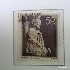 Sellos: 1954, AÑO SANTO COMPOSTELANO, EDIFIL 1130. Lote 289718718