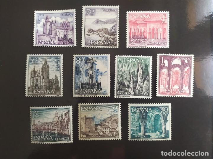 ## ESPAÑA NUEVO 1964 PAISAJES Y MONUMENTOS 10 SELLOS## (Sellos - España - II Centenario De 1.950 a 1.975 - Nuevos)