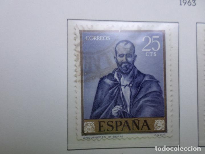1963, JOSE DE RIBERA EL ESPAÑOLETO, EDIFIL 1498 (Sellos - España - II Centenario De 1.950 a 1.975 - Usados)