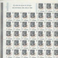 Sellos: ESPAÑA. AÑO 1968. DÍA MUNDIAL DEL SELLO.. Lote 289767663