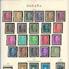 Sellos: SELLOS ESPAÑA 1955,56, SAN VICENTE FERRER, CENTENARIO DEL TELÉGRAFO, NAVIDAD. Lote 289797803