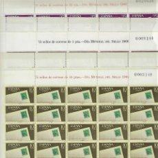 Sellos: ESPAÑA. AÑO 1966.DÍA MUNDIAL DEL SELLO.. Lote 289901663