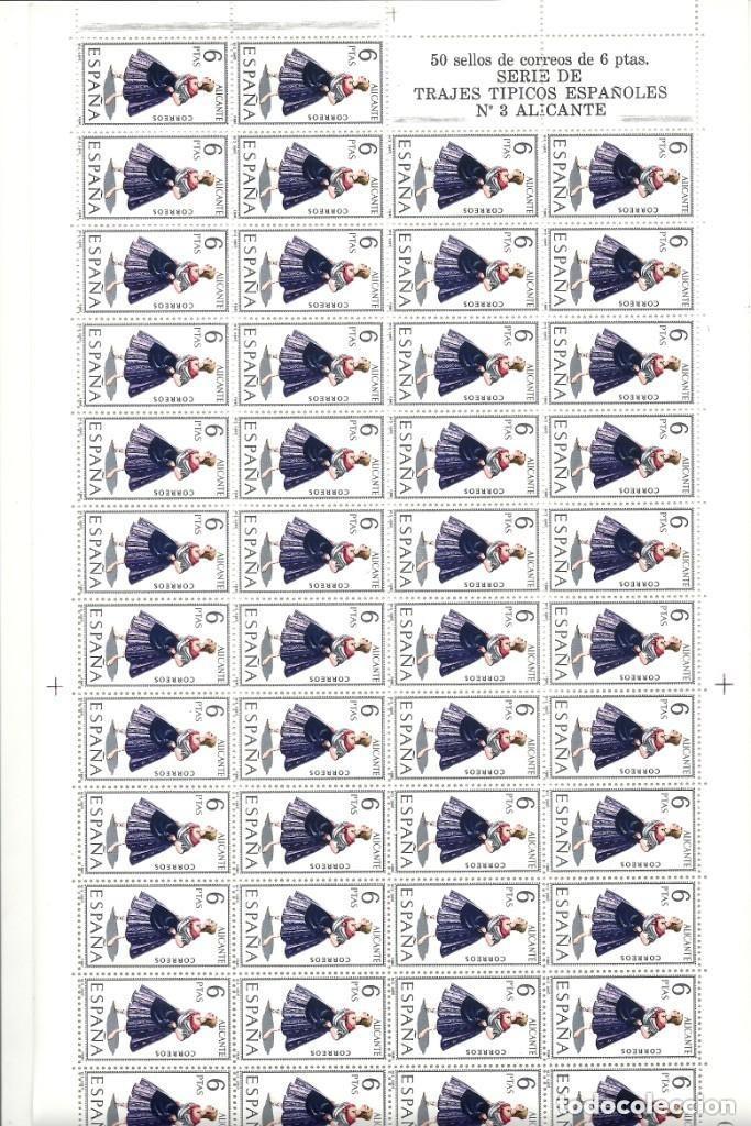 Sellos: ESPAÑA.TRAJES REGIONALES 53 VALORES. Serie completa. - Foto 3 - 289904298