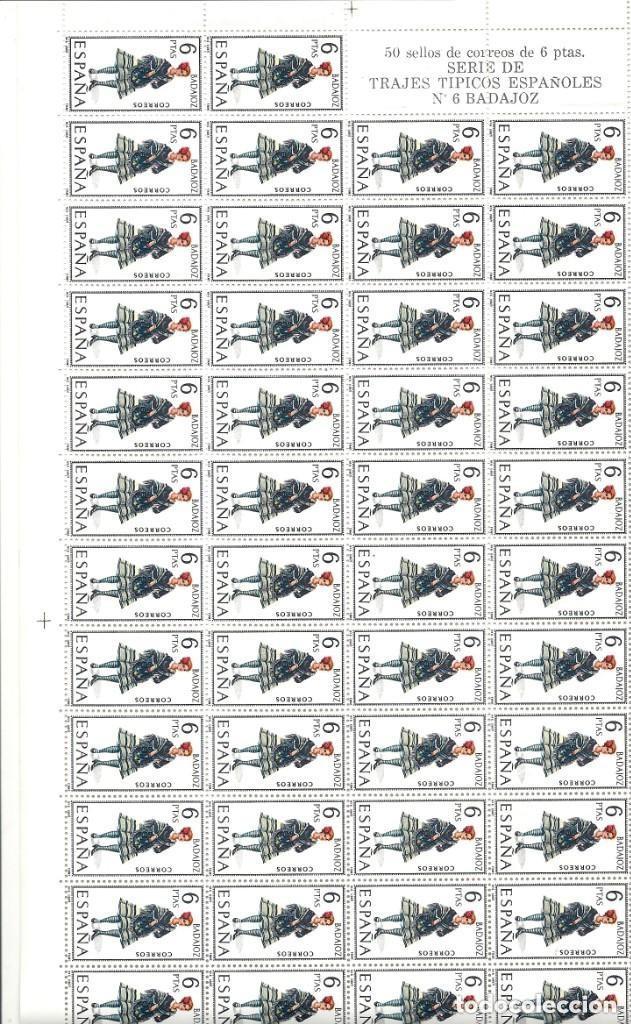Sellos: ESPAÑA.TRAJES REGIONALES 53 VALORES. Serie completa. - Foto 6 - 289904298