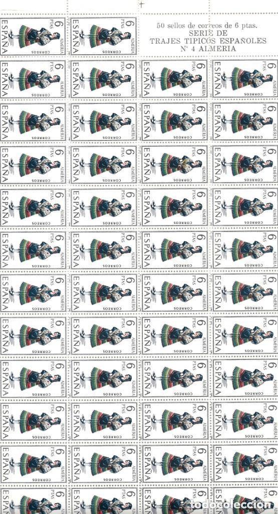 Sellos: ESPAÑA.TRAJES REGIONALES 53 VALORES. Serie completa. - Foto 4 - 289904403