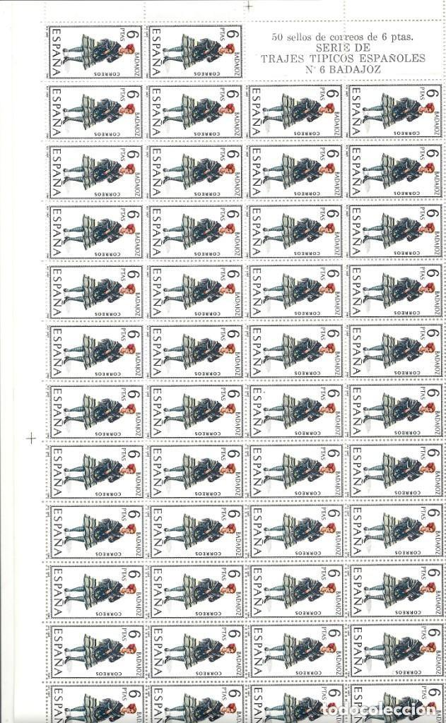 Sellos: ESPAÑA.TRAJES REGIONALES 53 VALORES. Serie completa. - Foto 6 - 289904403