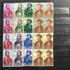 Sellos: 1962 FORJADORES DE AMÉRICA (SERIE III) 8 VALORES. Lote 290850353