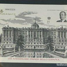 Sellos: ESPAÑA SPAIN PRUEBAS DE LUJO NUMERO 71 A. Lote 292394333