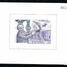 Sellos: ESPAÑA SPAIN PRUEBAS DE LUJO NUMERO 10. Lote 292396328