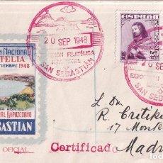 Francobolli: SELLOS ESPAÑA OFERTA SPD CONMEMORATIVO AÑO 1948 DIFICIL DE ENCONTRAR. Lote 293264888
