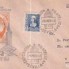 Francobolli: SELLOS ESPAÑA OFERTA SPD CONMEMORATIVO AÑO 1948 DIFICIL DE ENCONTRAR. Lote 293264938