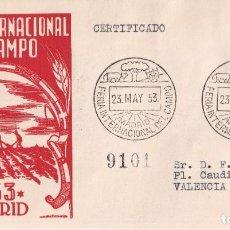 Francobolli: SELLOS ESPAÑA OFERTA SPD CONMEMORATIVO AÑO 1953 DIFICIL DE ENCONTRAR. Lote 293266823