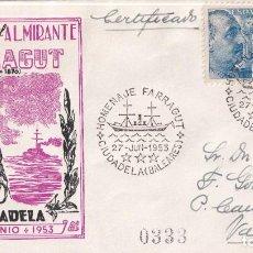 Francobolli: SELLOS ESPAÑA OFERTA SPD CONMEMORATIVO AÑO 1953 DIFICIL DE ENCONTRAR. Lote 293266858