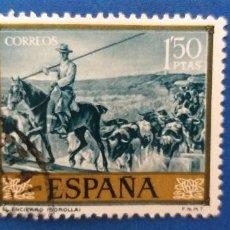 Sellos: USADO. AÑO 1964. EDIFIL 1571. JOAQUIN SOROLLA - EL ENCIERRO.. Lote 293918563