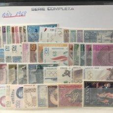 Sellos: SELLOS NUEVOS ESPAÑA AÑO 1968 COMPLETO. Lote 293922618