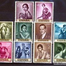 Sellos: ESPAÑA SEGUNDO CENTENARIO SERIES Nº 1657/ 66 ** ROMERO DE TORRES.. Lote 293983553