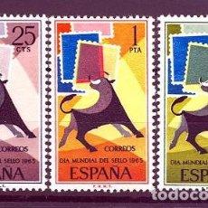 Sellos: ESPAÑA SEGUNDO CENTENARIO SERIES Nº 1667/69 ** DIA DEL SELLO. Lote 293983583