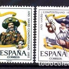 Sellos: ESPAÑA SEGUNDO CENTENARIO SERIES Nº 1672/73 ** AÑO SANTO. Lote 293983753