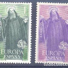 Sellos: ESPAÑA SEGUNDO CENTENARIO SERIES Nº 1675/76 ** EUROPA. Lote 293983803