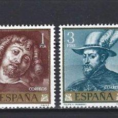"Sellos: ESPAÑA 1962. EDIFIL 1434/1437. SERIE COMPLETA ""PEDRO PABLO RUBENS"". MNH***. Lote 293991063"