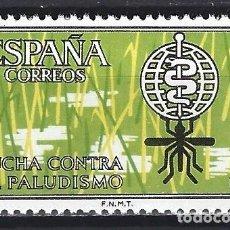 """Sellos: ESPAÑA 1962. EDIFIL 1479. SERIE COMPLETA """"CAMPAÑA MUNDIAL ANTIMALARIA"""". MNH***. Lote 293992078"""