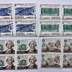 Sellos: SELLOS ESPAÑA 1976 SERIE BICENT. EE,UU EDIFIL 2322 A 2325 (COMPLETA) NUEVOS - GOMA ORIGINAL. Lote 295504173