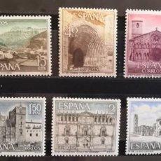 """Sellos: ESPAÑA 1966. EDIFIL 1726/1735.SERIE COMPLETA """"SERIE TURÍSTICA"""". MNH***. Lote 295916548"""
