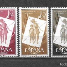 Sellos: ESPAÑA 1956 EDIFIL 1200/1202 * MH - 5/29. Lote 295976103