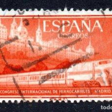 Sellos: RRC EDIFIL 1235 ESPAÑA 1958 *USADO*. Lote 296003178