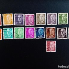 Sellos: SELLOS GENERAL FRANCO SERIES 1955-1975. Lote 297026953