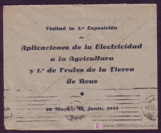 Sellos: DORSO DEL SOBRE CON PUBLICIDAD - Foto 2 - 24517423