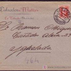 Sellos: ESPAÑA.(CAT.669).1932.SOBRE D LA ESTRADA A IGUALADA.30 CTS.MAT.*LA ESTRADA/PONTEVEDRA*.LLEGADA.LUJO.. Lote 25171607