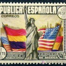 Sellos: 763* - CL ANIV. CONSTITUCION EE.UU. 1938 (NUEVO CON CHARNELA). Lote 10776722