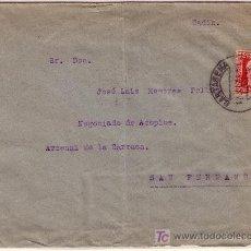 Sellos: CARTA DE CARTAGENA A SAN FERNANDO ( ARSENAL ) FRANQUEADA CON SELLO 669 MATASELLADO.. Lote 12964920