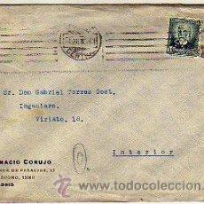 Sellos: PERFORA PRIVADO. IGNACIO CORUJO. MADRID.1932.. Lote 15105869