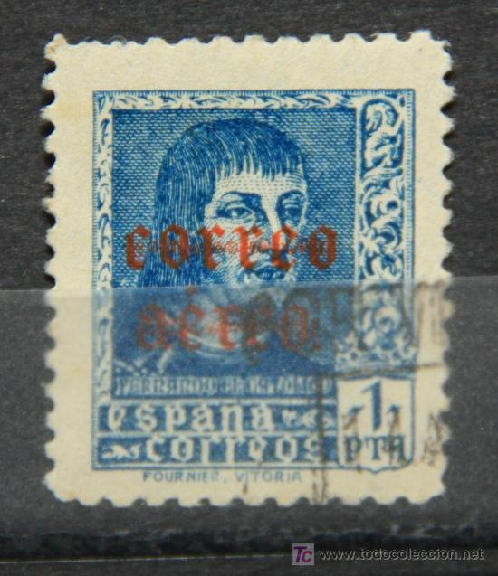 ESPAÑA EDIFIL 846 SELLO USADO SPAIN ES-48 (Sellos - España - II República de 1.931 a 1.939 - Cartas)