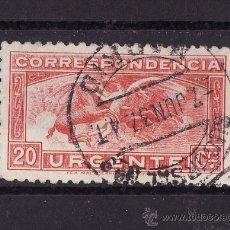 Sellos: 1934 PEGASO 20 C ROJO MATASELLO MADRID SUC 9. Lote 23302393
