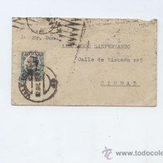 Sellos: CARTA INTERIOR DE VALENCIA CON SELLO DE 15 CTS. . Lote 23567376
