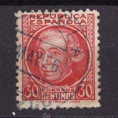 Sellos: 1934-35 PERSONAJES JOVELLANOS MATASELLO LOIOLA GUIPUZCOA MAY 1936. Lote 24458329