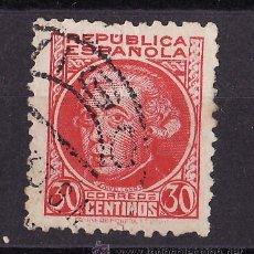 Sellos: 1934-35 PERSONAJES JOVELLANOS MATASELLO ORDINARIA VIGO XX XXX 35. Lote 24458372