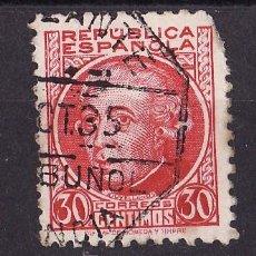 Sellos: 1934-35 PERSONAJES JOVELLANOS MATASELLO AMBULATE ALBUÑOL VALENCIA XX XCT 35. Lote 24458447