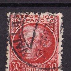 Sellos: 1934-35 PERSONAJES JOVELLANOS MATASELLO ORDINARIA VALLADOLID 21 FEB 36. Lote 24458645