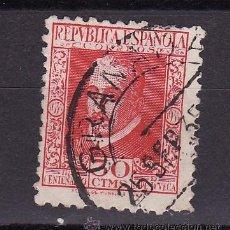 Sellos: 1935 III CENTENARIO DE LA MUERTE DE LOPE DE VEGA MATASELLO ORDINARIA GRANADA 25 SEP 35. Lote 24807085