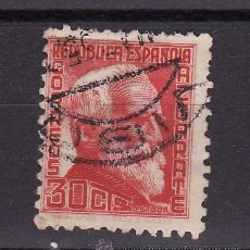 Sellos: 1934 - 35 PERSONAJES G. DE AZCARATE MANFIL 687 MATASELLO ORDINARIA VIGO XX MAX 35. Lote 24806628