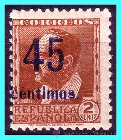 1938, EDIFIL Nº NE28 * * (Sellos - España - II República de 1.931 a 1.939 - Nuevos)