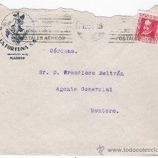 Sellos: CARTA CON MEMBRETE DE MADRID A MONTORO. DE SEPTIEM-1935. FRANQUEADO CON SELLO 691.. Lote 26710786