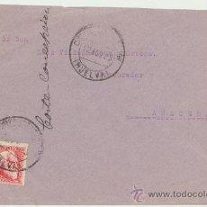 Sellos: CARTA DE CORTEGANA A SEVILLA. DEL 22 SEPTIEMBRE DE 1935. FRANQUEADO CON SELLO 686. . Lote 26774021